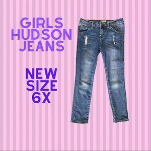 Girls size 6X Hudson Jeans
